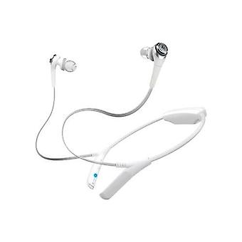 Audio technica athcks550bt solid bass wireless earbuds - (white)