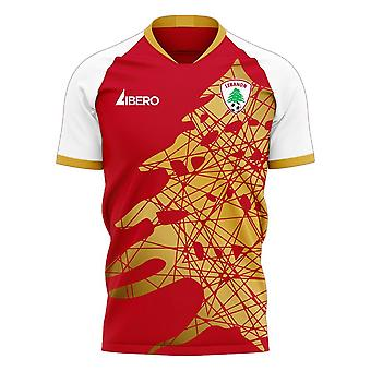Lebanon 2020-2021 Home Concept Football Kit (Libero)