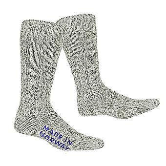 Norwegian Wool Socks Grey SIZE EU 37 - 39