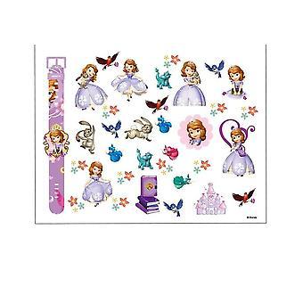 الأطفال المجمدة إلسا آنا ماكياج لعبة مسمار ملصق