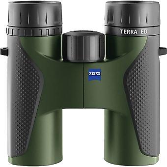 Zeiss Terra ED 10x32 Binoculars (Black/Green) -