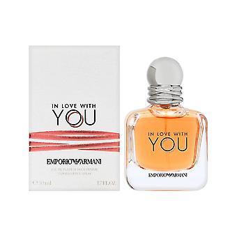 מאוהב בך על ידי ג'ורג'יו ארמני לנשים 1.7 עוז או התרסיס parfum
