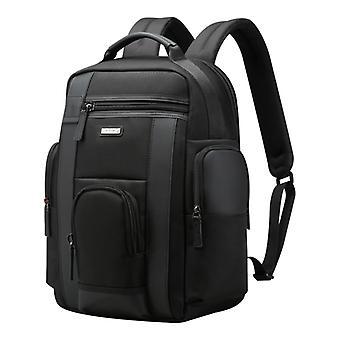 Bopai 851-008821 Outdoor atmungsaktive wasserdichte Anti-Diebstahl große Kapazität Doppel Schultertasche, mit USB-Ladeanschluss, Größe: 36x17x41.5cm (Schwarz)