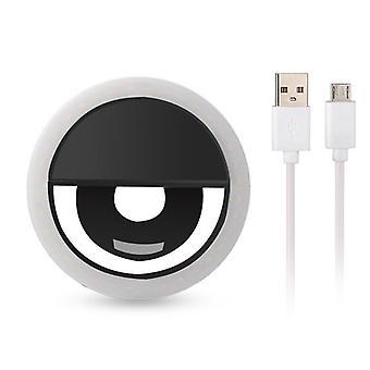 Iphone用ポータブル LED 携帯電話 ライト クリップ ランプ