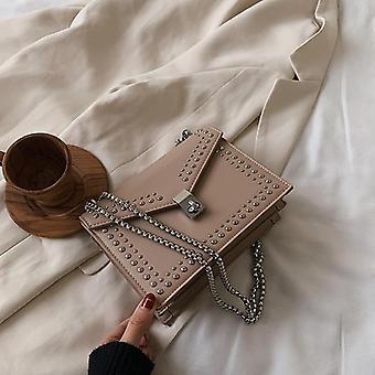 Scrub Leather Brand Designer Shoulder Bags