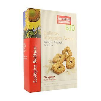 Organic Gluten Free Oatmeal Integral Cookies 250 g