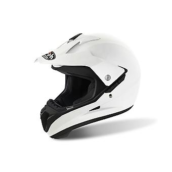Airoh S5 Motorcycle Helmet Replacement Peak Color White PEAK ONLY