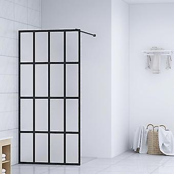 Duschwand für Begehbare Dusche Hartglas 140×195 cm