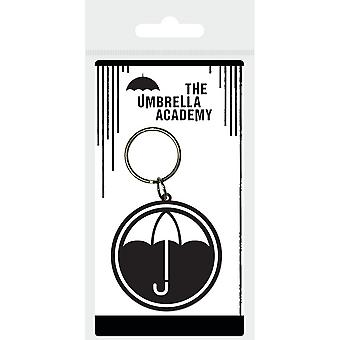The Umbrella Academy Icons Rubber Keyring