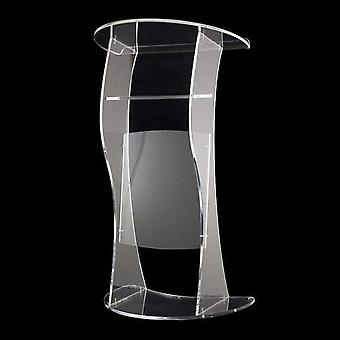 Ekologiskt glas, kyrkans akrylpredikstol