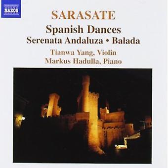 P. Sarasate - Sarasate: Spanish Dances; Serenata Andaluza; Balade [CD] USA import