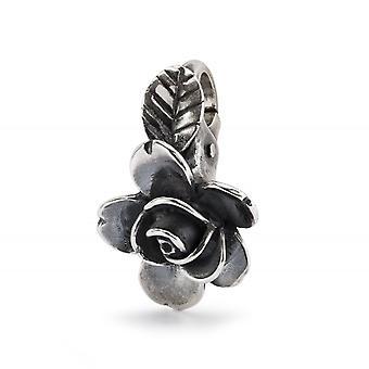 Trollbeads Rose of Beauty Sterling Silver Hängande TAGPE-00080