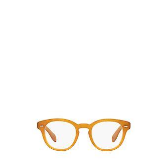 Oliver Peoples OV5413U halv matt bärnstensfärgad sköldpadda unisexglasögon