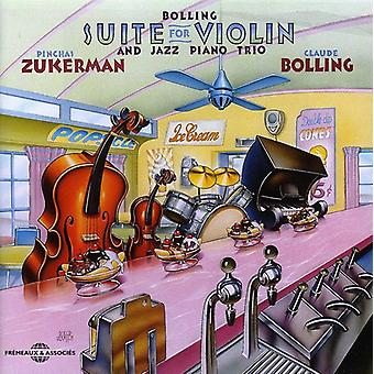 C. Bolling - Suite for Violin & Jazz Piano Trio [CD] USA import
