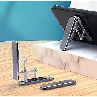 Bakeey portatile pieghevole nascosto tipo pigro telefono desktop supporto in lega di alluminio stand back stick supporto cellulare per iphone poco m3 tutto smartphone