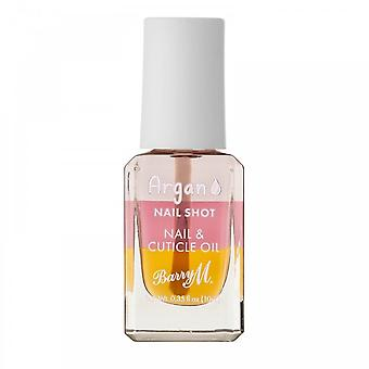 Barry M Nail Shot Nail & Cuticle Oil - Argan