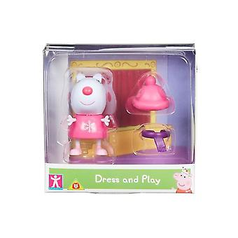 Peppa Pig Dress & Play Suzi Schapen Figuur Pack