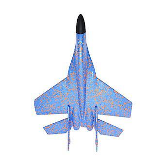 Lasten käsinheitto malli lentokone (sininen)