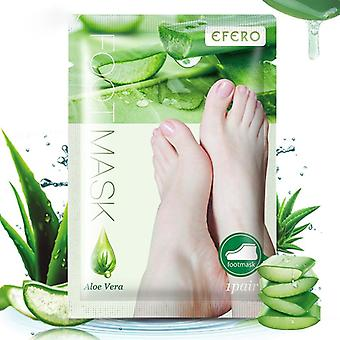 Aloe Vera Foot Peel Mask Remove Dead Skin Heels Foot Peeling Socks