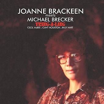 Brackeen, Joanne Meets Michael Brecker - Tring-a-Ling [CD] USA import