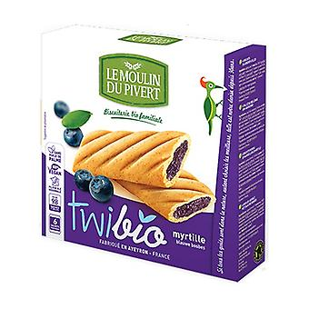 Twibio Blueberry snack 6 units of 25g