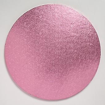 "12"" (304mm) Cake Board Round Light Pink - single"
