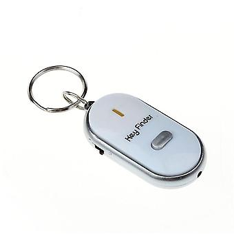 Sound Control Anti-lost Alarm Key Finder Locator Keychain Whistle Sound With