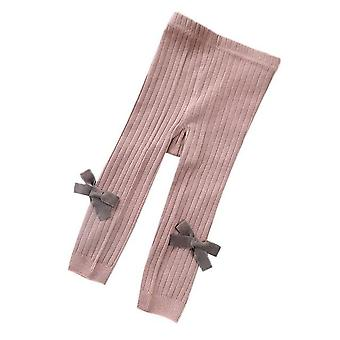 Baby Leggings Bow Wild Cotton Soft Breathable Knitted Pants