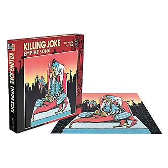 Killing Joke Jigsaw Puzzle Empire Song new Official 500 Piece