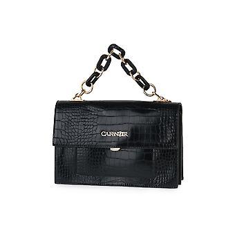 Bolsa de embrague Cafe noir n001 con bolsas de cadena de coco