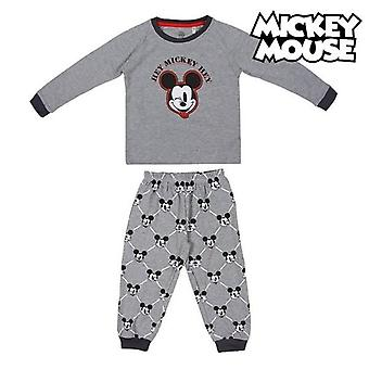 Children's pyjama mickey mouse grey