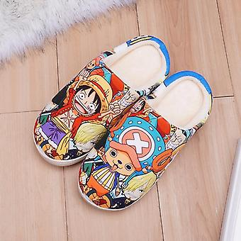 Sapatos de anime cosplay Luffy Warm