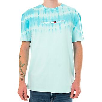 T-shirt homme tommy jeans tjm tie dye tee dm0dm08334.csw