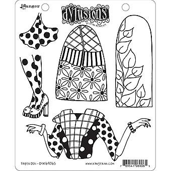 Dylusions By Dyan Reaveley - Cling Stamp Sets - Paper Doll