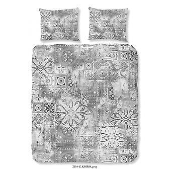 sängkläder Kriro grå 140 x 220 cm