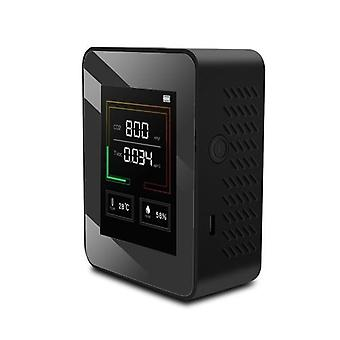 Deal billigsteK03 Haushalt Luftqualitätsdetektor Multifunktionale C02 Temperatur Luftfeuchtigkeit Tester LCD Display mit Hintergrundbeleuchtung landwirtschaftliche Bepflanzung, Gewächshaus Gemüse, Produktionslager, Materialverarbeitung, Home Interior, etc.