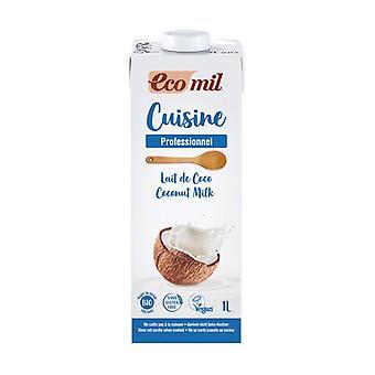 Organic coconut cooking cream 1 L