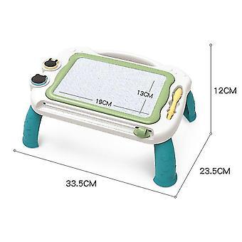 Tafel groene magnetische tekentafel speelgoed voor 1-2 jaar oude meisjes krabbel board voor kinderen x5228