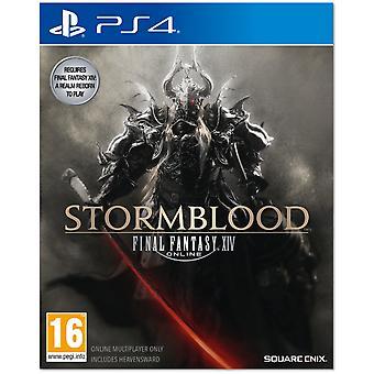 Final Fantasy XIV 14 Online Stormblood PS4 Game
