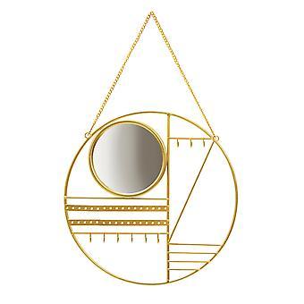 Sass &Belle Abstrakt Guld Smykkebøjle med Spejl