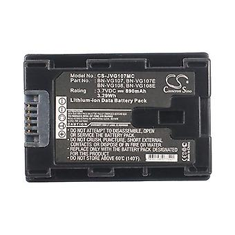 Cameron Sino Jvg107Mc Battery Replacement For Jvc Camera