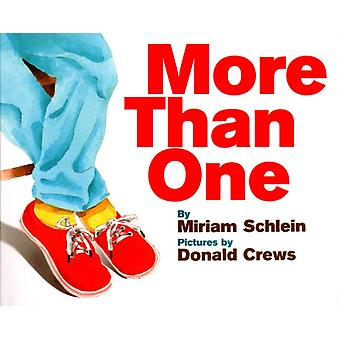 More Than One by Miriam Schlein & Illustrated by Donald Crews