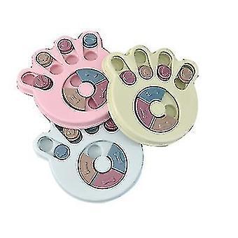Monitoimisen tassun painatus koulutus lelu koiran ruoka levysoitin kuristamisenestovälineet koira