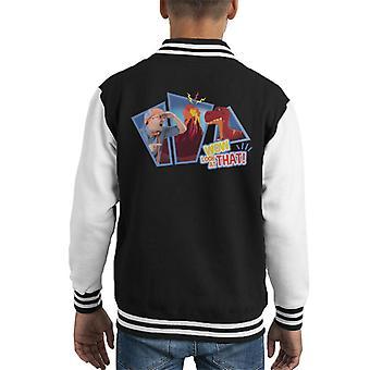 Blippi Dinosaurs Wow Look At That Kid's Varsity Jacket