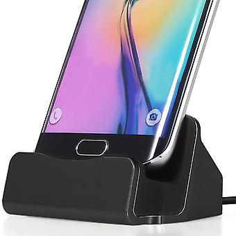 (Black) Samsung Galaxy Note 3 Desktop Charger Micro USB Base Stand