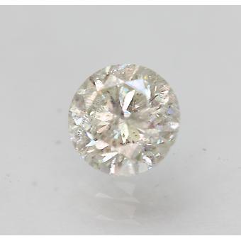 Certificado 0.56 Quilate i SI3 Rodada Brilhante Brilhante Diamante Solto Natural Solto 5.17mm