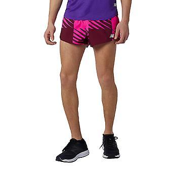 New Balance Printed Fast Flight 3 pulgadas Split Running Shorts - AW21