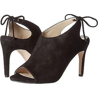 Cole Haan Zapatos de Mujer Emmett botín Cuero Peep Toe Casual Mule Sandalias