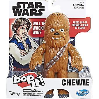 Hasbro Gaming Bop It Jeu électronique Star Wars Chewie