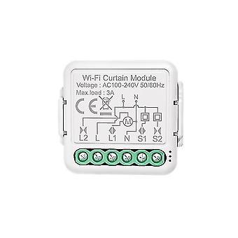 Tuya Smart WiFi Vorhang Jalousien Schaltermodul für Smart Home Rollmotor drahtlose Fernbedienung